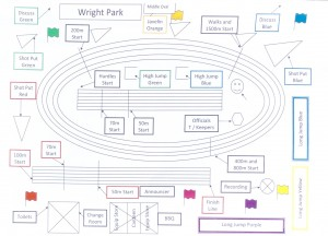 Wright Park event layout